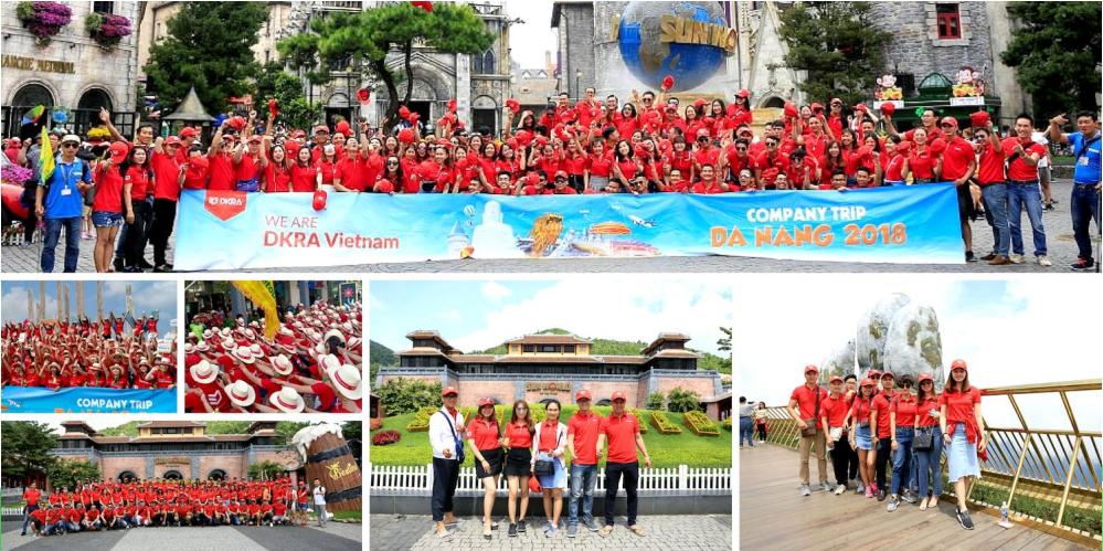 Tour khách đoàn DKRA Đà Nẵng do Vietourist tổ chức