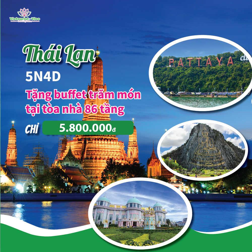 Tour du lịch Thái Lan Vietourist