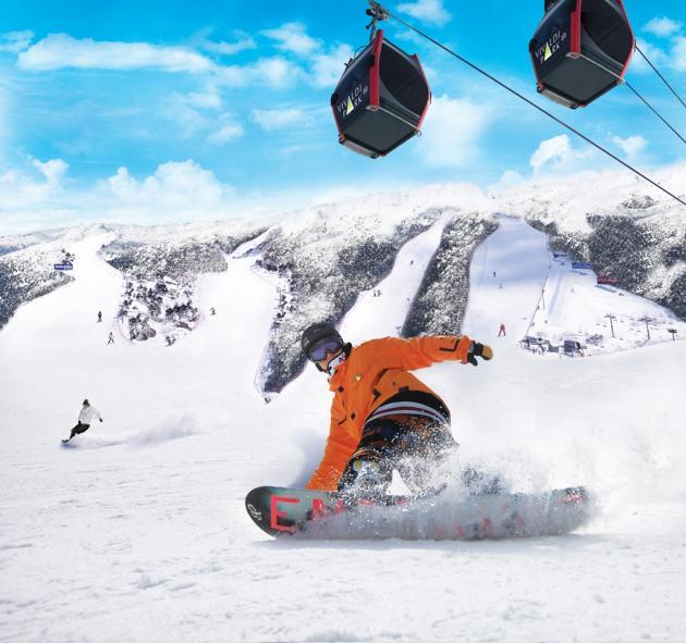 Trải nghiệm trượt tuyết tại Skiing Resort